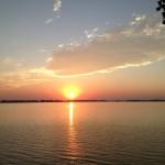 Sunset at Johnson Lake
