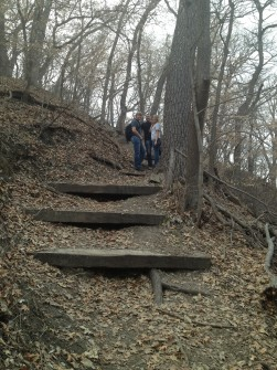 Hiking at Platte River State Park